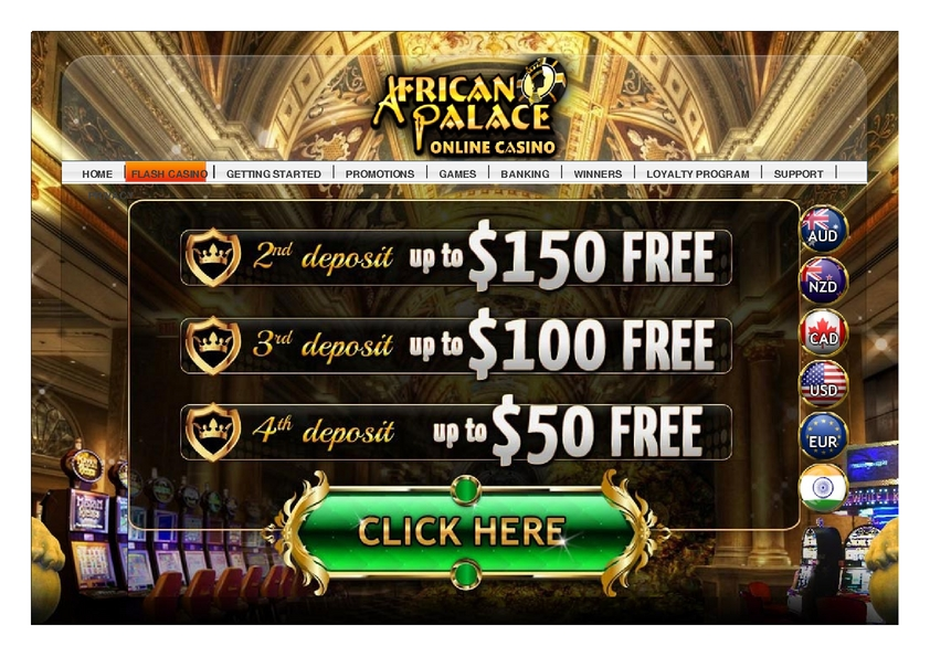 African Palace review on Review Slots