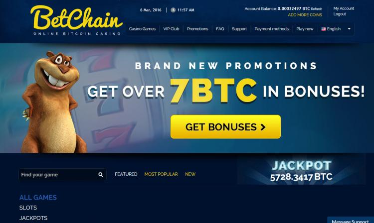 Betchain review on Review Slots