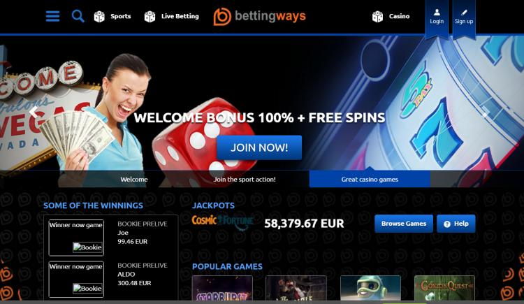 Betting Ways review on Review Slots