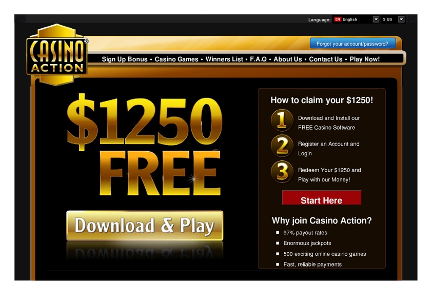 Casino Action review on Review Slots