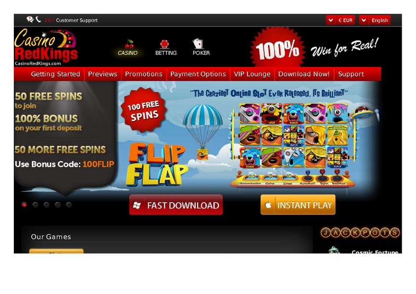 Casino Red Kings review on Review Slots