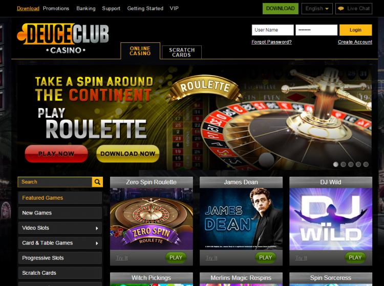 Deuce Club review on Review Slots
