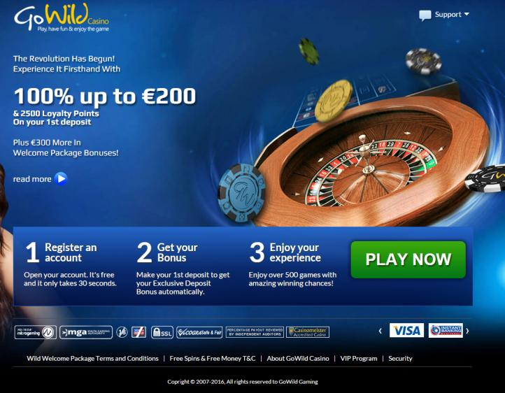 Go Wild review on Review Slots