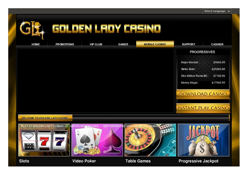 Golden Lady review on Review Slots