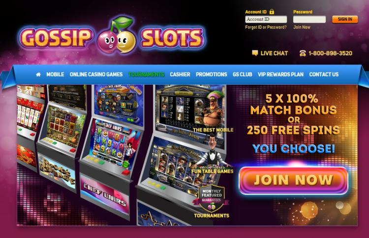 Gossip Slots review on Review Slots