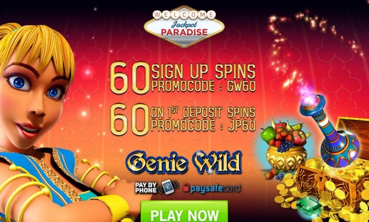 Jackpot Paradise review on Review Slots