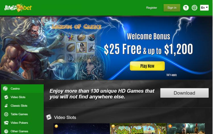 Jumba Bet review on Review Slots