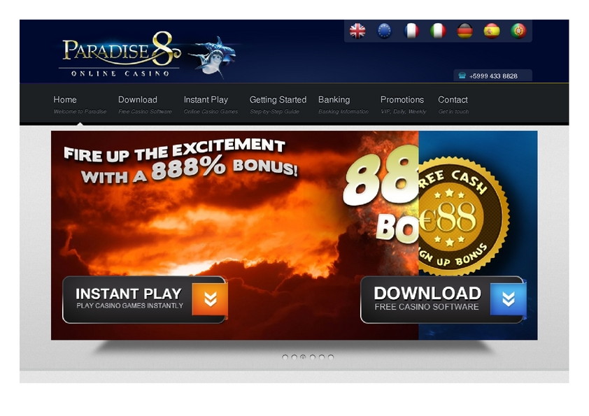 Paradise 8 review on Review Slots
