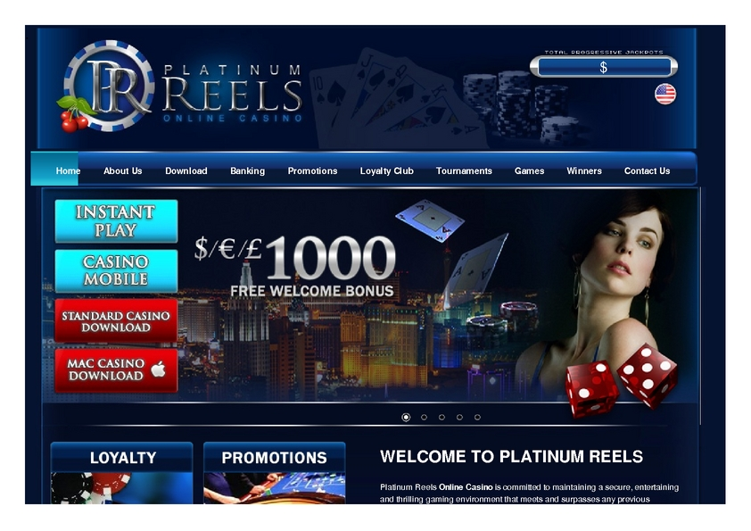 Platinum Reels review on Review Slots
