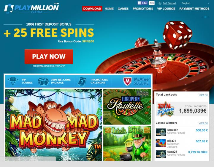 Play Million review on Review Slots