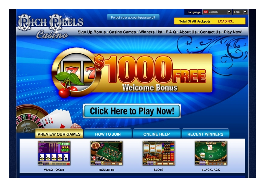 Rich Reels review on Review Slots