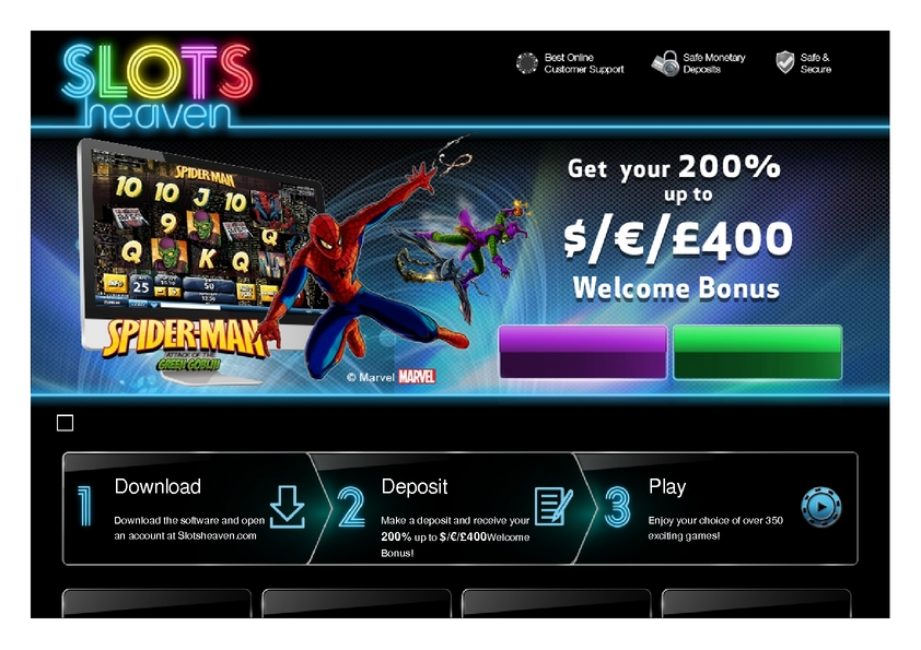 Slots Heaven review on Review Slots