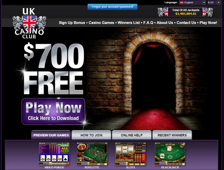 UK Casino Club review on Review Slots