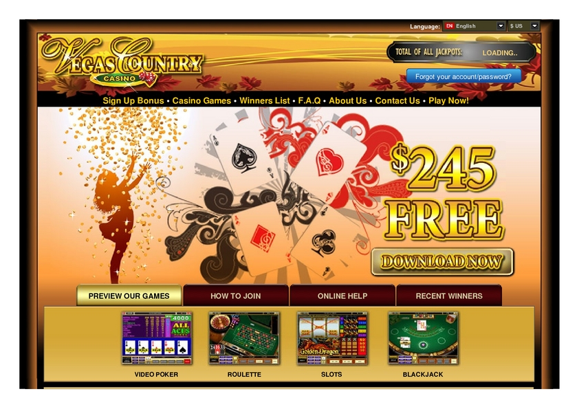 Vegas Country review on Review Slots