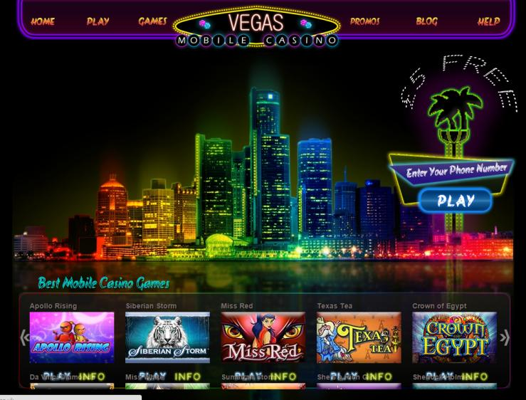 VegasMobile review on Review Slots