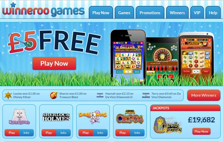 Winneroo Games review on Review Slots