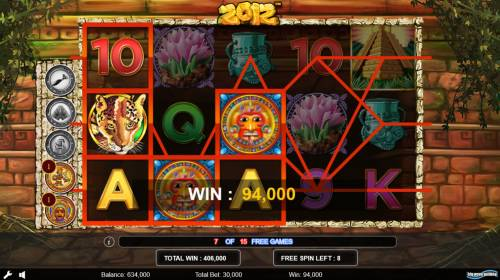 2012 Review Slots Multiple winning paylines