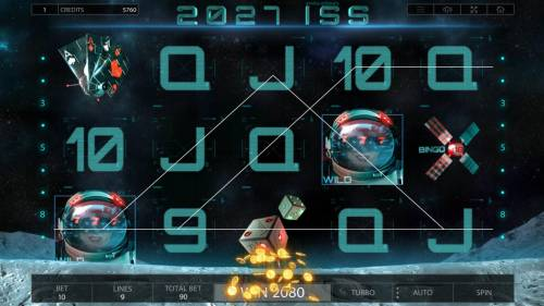 2027 ISS Review Slots Multiple winning paylines triggers a 2080 big win!