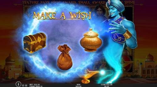 3 Genie Wishes review on Review Slots