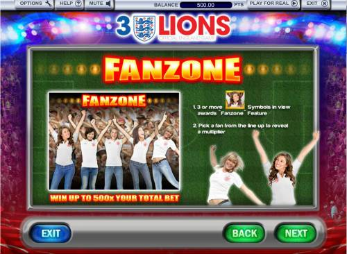 3 Lions Review Slots Fanzone