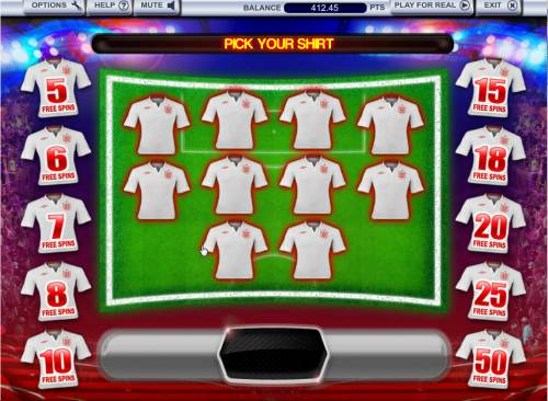 3 Lions Review Slots Select a jersey to reveal free spins