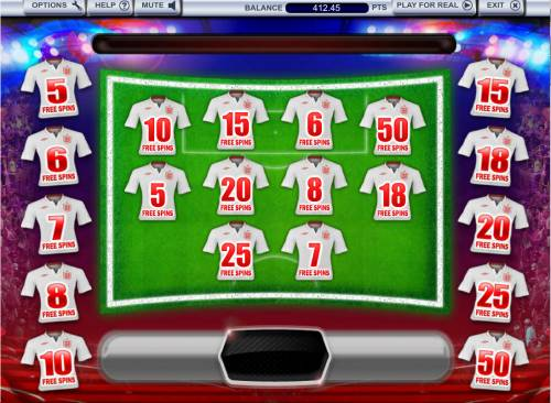 3 Lions Review Slots Free Spins Game Board
