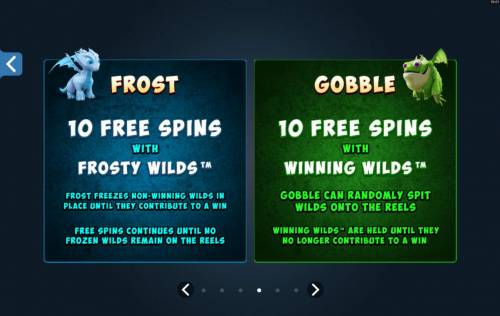 Dragonz Review Slots Frost and Goble Free Spins Options