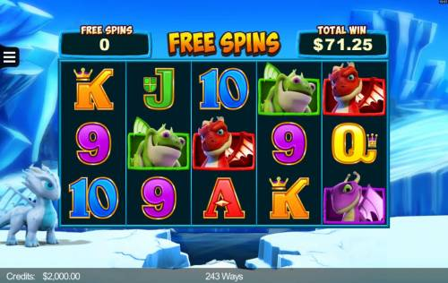 Dragonz Review Slots Free Spins Game Board