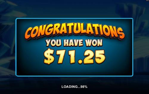 Dragonz Review Slots Free Spins feature pays out a 71.25 jackpot award.