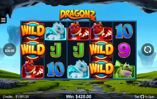 Dragonz review on Review Slots