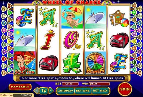 Wheel of Chance 5 Reel review on Review Slots
