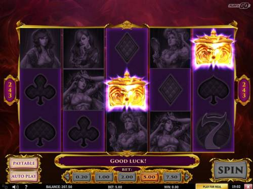 7 Sins Review Slots Second Chance feature activated