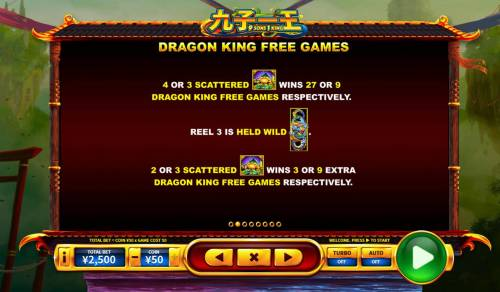 9 Sons, 1 King Review Slots Dragon King Free Games Rules