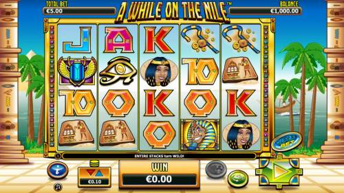 A While on the Nile review on Review Slots