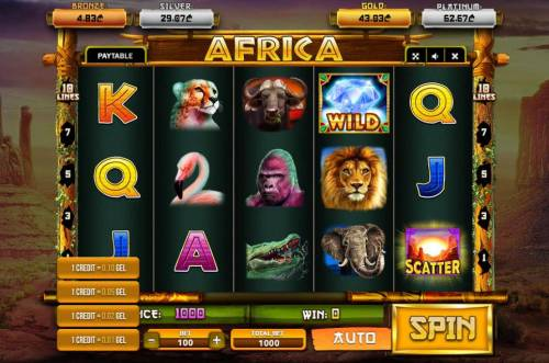 Africa Review Slots Betting Options