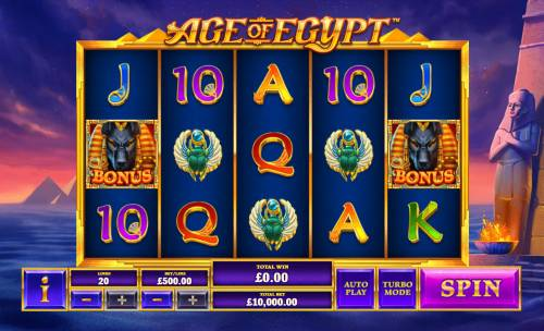 Age of Egypt review on Review Slots