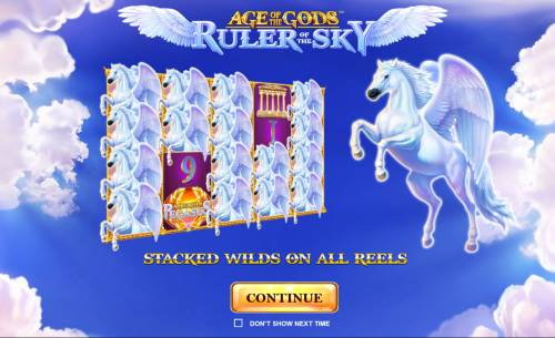Age of the Gods Ruler of the Sky Review Slots Introduction