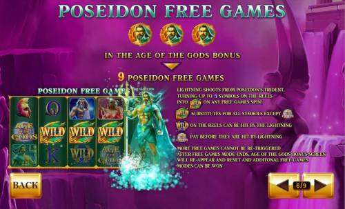 Age of the Gods Review Slots Poseidon Free Game Rules
