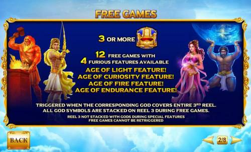 Age of the Gods Furious 4 review on Review Slots