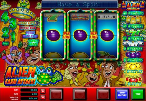 Alien Cash Attack review on Review Slots