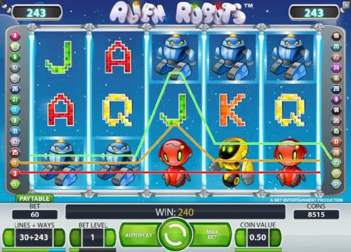 Alien Robots review on Review Slots