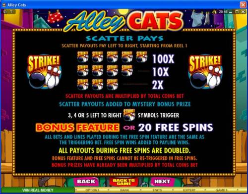 Alley Cats Review Slots