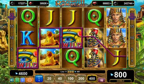 Almighty Ramses II Review Slots Multiple winning paylines