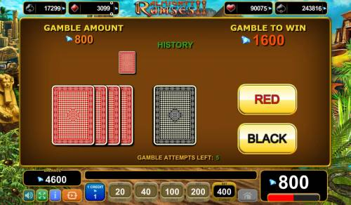 Almighty Ramses II Review Slots Gamble Feature Game Board