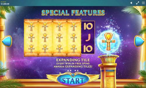 Ancient Script Review Slots Every win in free spins awards expanding tiles.