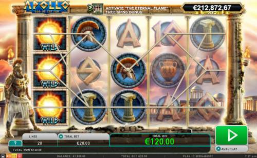 Apollo God of the Sun review on Review Slots