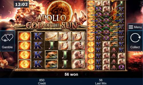 Apollo God of the Sun Review Slots Landing a full stack of wild on reel set 1 will repeat the same onto reel set 2