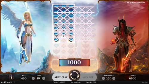 Archangels Salvation Review Slots Multiple winning paylines triggers a big win