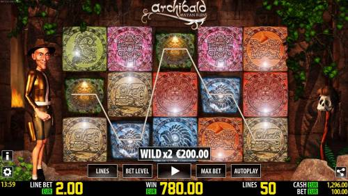 Archibald Mayan Ruins Review Slots Multiple winning paylines triggers a big win