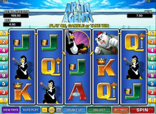 Arctic Agents Review Slots here is a typical jackpot payout